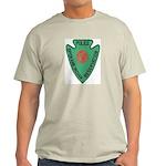 Spokane Tribal Police Ash Grey T-Shirt