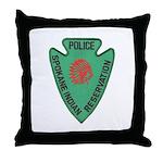 Spokane Tribal Police Throw Pillow