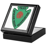 Spokane Tribal Police Keepsake Box