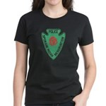 Spokane Tribal Police Women's Dark T-Shirt