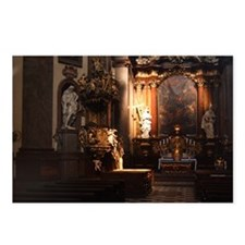 Prague Church Postcards (Package of 8)