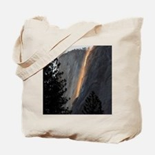 Yosemite Fire Fall Tote Bag