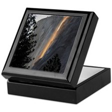 Yosemite Fire Fall Keepsake Box
