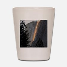 Yosemite Fire Fall Shot Glass