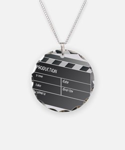 Movie Clapperboard Necklace