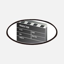 Movie Clapperboard Patches