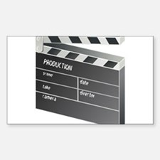 Movie Clapperboard Decal