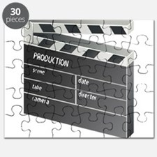 Movie Clapperboard Puzzle