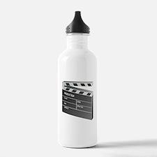 Movie Clapperboard Water Bottle