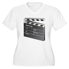 Movie Clapperboard Plus Size T-Shirt