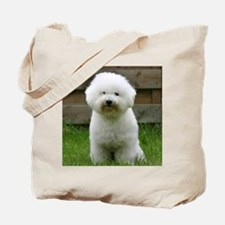 bichon-frise-0126 Tote Bag