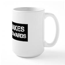cowards black Mug
