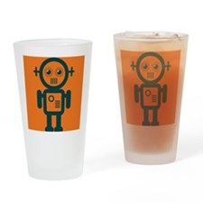 Robo Guy Drinking Glass