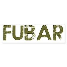Fubar Car Sticker