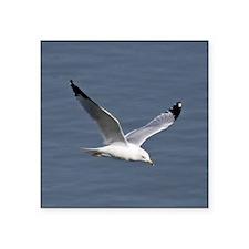 """More Small Birds 029 a Tile Square Sticker 3"""" x 3"""""""
