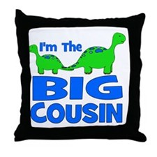 imtheBIGcousin_dino Throw Pillow