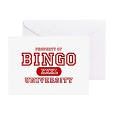 Bingo University Greeting Cards (Pk of 10)