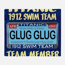 TitanicGlug10x10-5 Throw Blanket