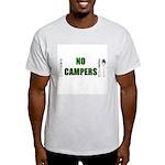 No Campers Ash Grey T-Shirt