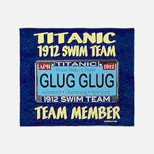 TitanicGlug WallCal9x11.5-a Throw Blanket