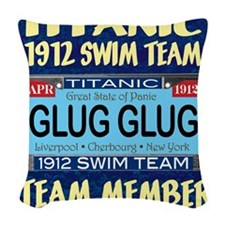 TitanicGlug WallCal9x11.5-a Woven Throw Pillow