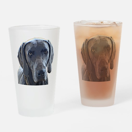 weim1 Drinking Glass