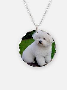 bichon-frise-0043 Necklace