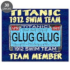 TitanicGlugClock15.35x15.35 Puzzle