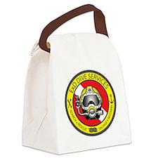 ExD Dive Logo Canvas Lunch Bag