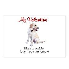 Labrador Valentine2 Postcards (Package of 8)