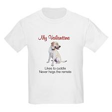 Labrador Valentine2 Kids T-Shirt