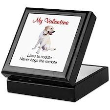 Labrador Valentine2 Keepsake Box