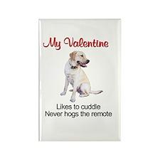 Labrador Valentine2 Rectangle Magnet