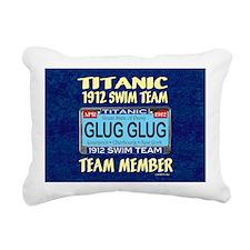 TitanicGlugMouse9.5x8 Rectangular Canvas Pillow