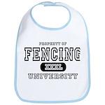 Fencing University Bib