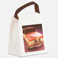 1977 pontiac grand prix Canvas Lunch Bag