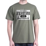 Fencing University Dark T-Shirt
