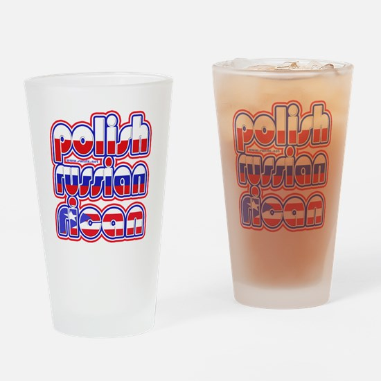 PolishRussianRican Drinking Glass