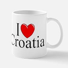 """I Love Croatia"" Mug"