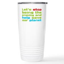 Help Planet Travel Mug