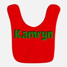 Kamryn Red and Green Bib