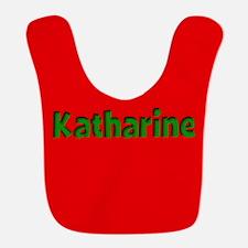 Katharine Red and Green Bib