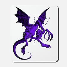 Jabberwocky Purple Fill Mousepad