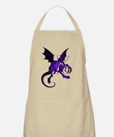 Jabberwocky Purple Fill Apron