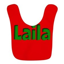 Laila Red and Green Bib