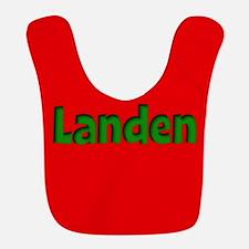 Landen Red and Green Bib