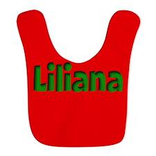 Liliana Red and Green Bib