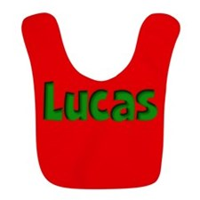 Lucas Red and Green Bib