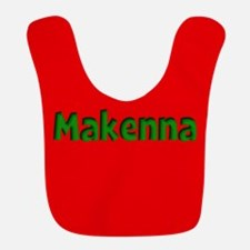 Makenna Red and Green Bib
