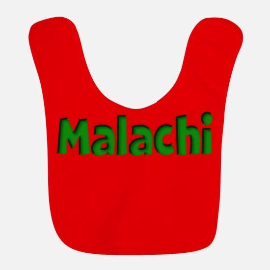Malachi Red and Green Bib